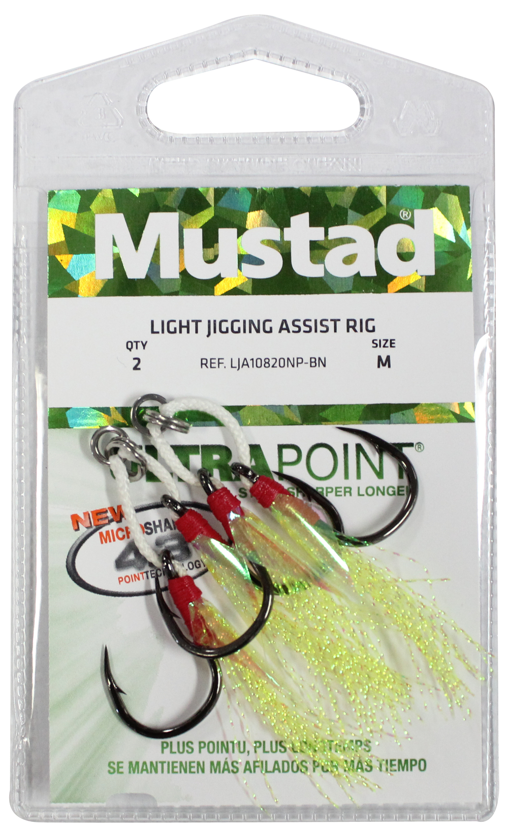 Wilson Fishing Mustad Light Jig Assist Hooks